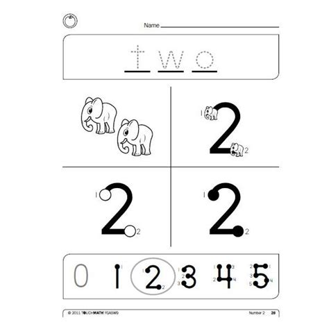Touch Math Printable Worksheets by Touch Math Addition Images