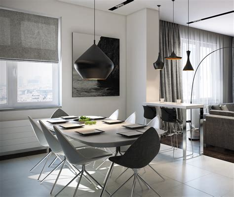 Mod Dining Room Interior Design Ideas