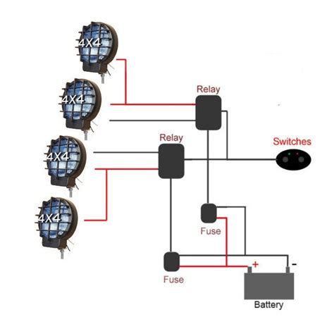 5 pin relay spotlight wiring diagram wiring diagram