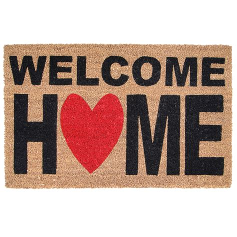Home Is Where The Is Doormat by Welcome Home Doormat