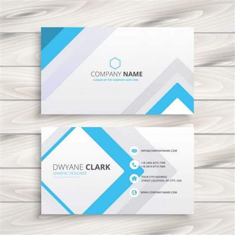 company id card design vector free download business card with minimal design vector free download
