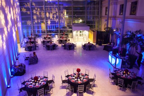 museum  fine arts  holiday affair wedding planner