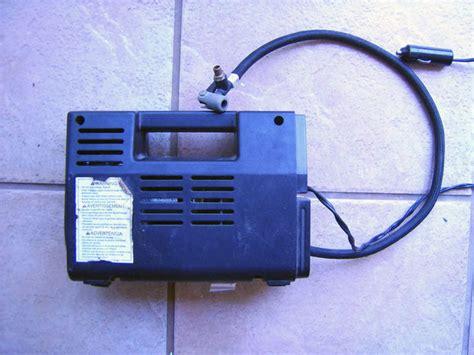 how to vacuum convert a tire inflator type air compressor into a vacuum pump