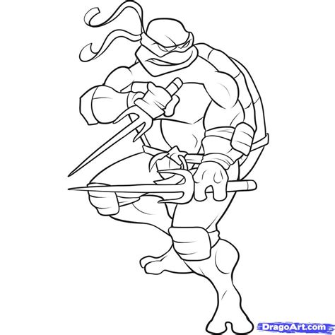 tmnt coloring pages pdf how to draw a ninja turtle step by step characters pop