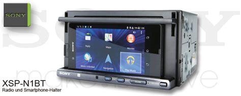 Auto Malen Für Anfänger by Sony Xsp N1bt Doppel Din Autoradio Als Universal