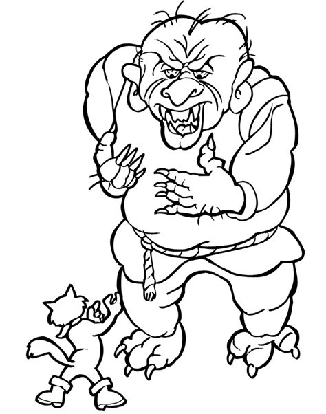 puss in boots coloring pages coloring home