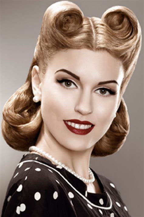 1950s Hairstyle by Photos Vintage Hairstyles Hair 1950 S Hairstyles For