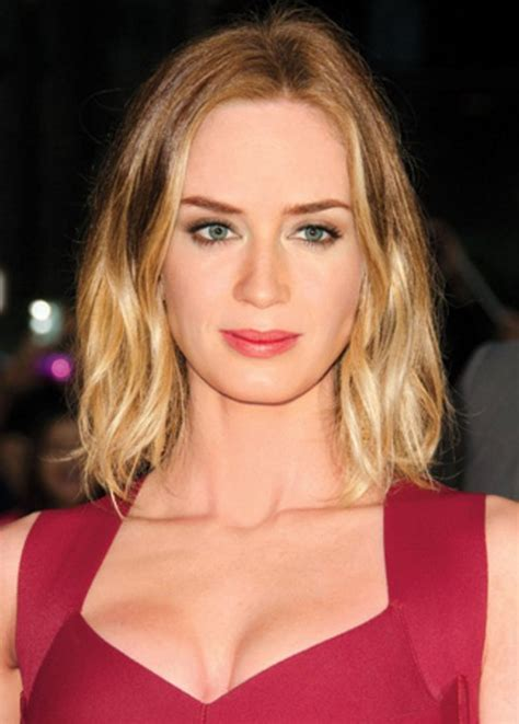 emily blunt hairstyles celebrity latest hairstyles