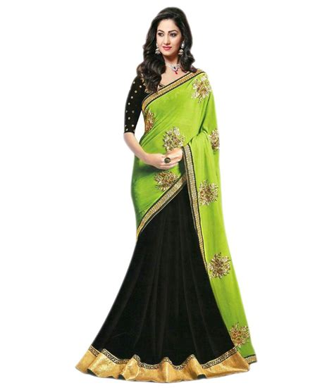 queen s queen s turquoise georgette saree buy queen s turquoise