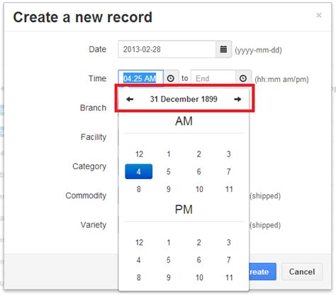 javascript format date add days when used as only a timepicker allow disabling of date