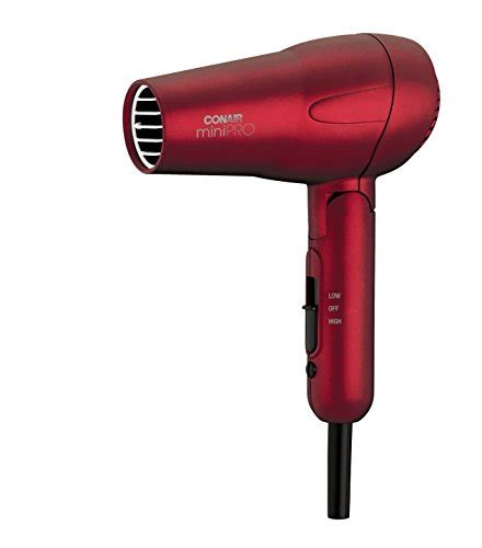 Hair Dryer Air Canada conair minipro folding handle tourmaline ceramic styler hair dryer