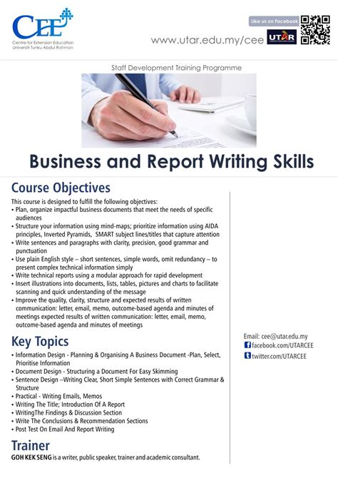 Business Writing Skills Course Outline by Robot Computer To Essays Education The Guardian Business Report Writing