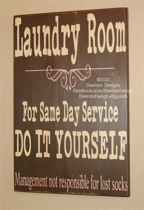Laundry Room Signs Decor Laundry Sign Laundry Room Decor Laundry Sign By Deenasdesign