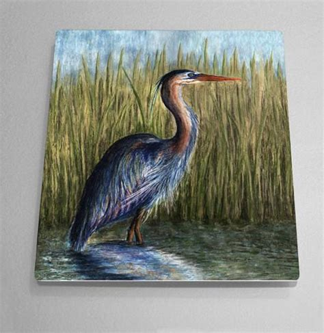 Blue Heron Detox Cleanse Pills by Blue Heron Aluminum Wall By Outer Banks Nc Artist