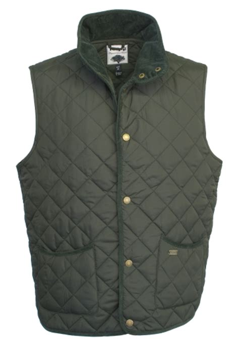 Mens Quilted Gilets by Toggi Tiverton Mens Quilted Gilet