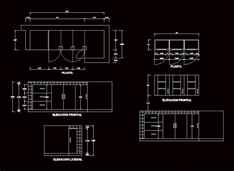 Kitchen Cabinet Detail DWG Detail for AutoCAD ? Designs CAD