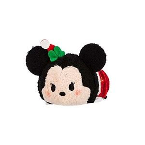 Boneka Tsum Tsum Disney Minnie Mouse your wdw store disney tsum tsum mini santa minnie mouse