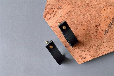 lade pl lade 1 black leather furniture pull leather pulls