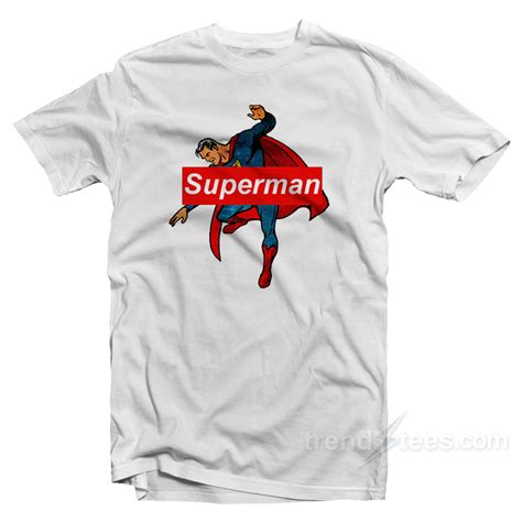 Supreme Cheap Superman Supreme Cheap Custom T Shirt Trendstees