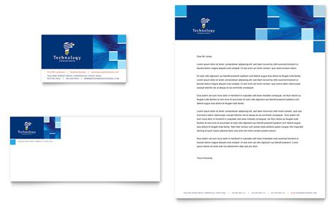 free letterhead templates for mac technology consulting it business card letterhead