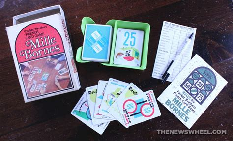 mille bornes  classic french auto racing card game review  news wheel