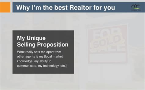 realtor listing presentation template real estate listing presentation template