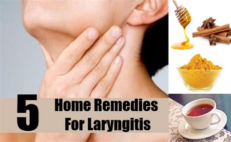 5 best home remedies for laryngitis treatments