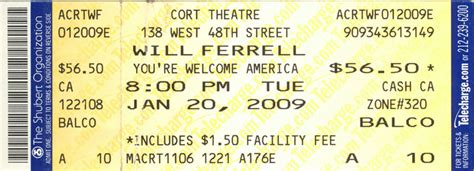 Photo Broadway Ticket Template Images Broadway Show Ticket Template