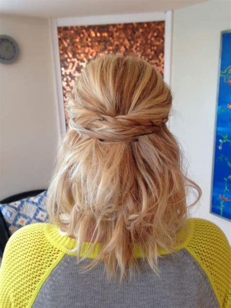 ways to wear shoulder length hair up pin by christy cass on hair lock love pinterest
