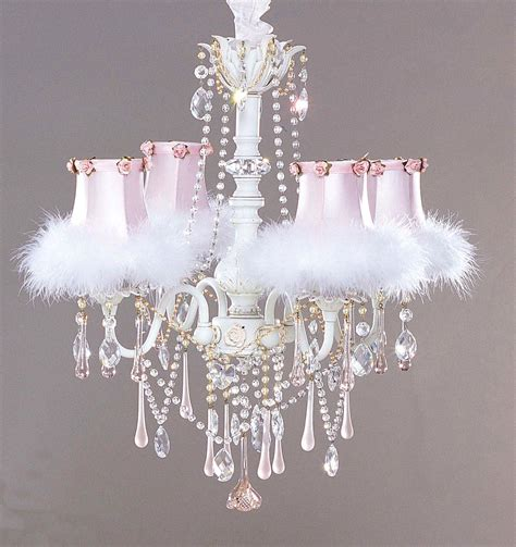 make shabby chic chandelier miss inspired