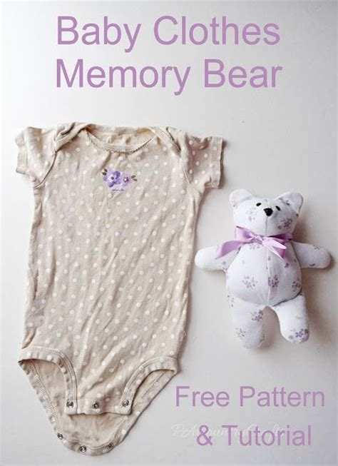 memory bear pattern free memory bears bear patterns and memories on pinterest
