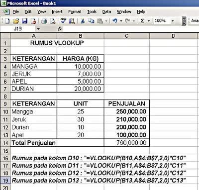tutorial rumus excel 2013 lengkap tutorial rumus vlookup excel 2007 belajar microsoft excel