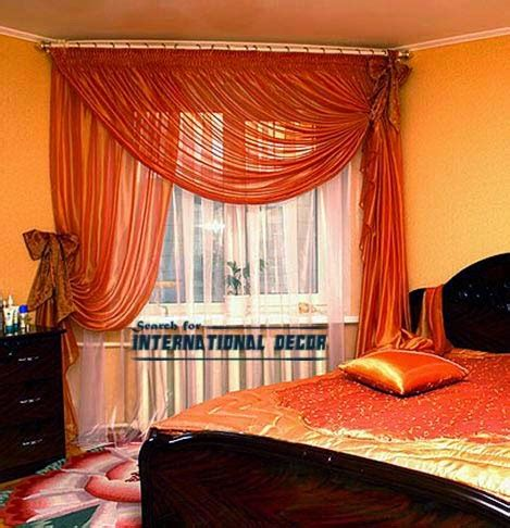 window curtain ideas bedroom unique orange curtain designs for bedroom windows