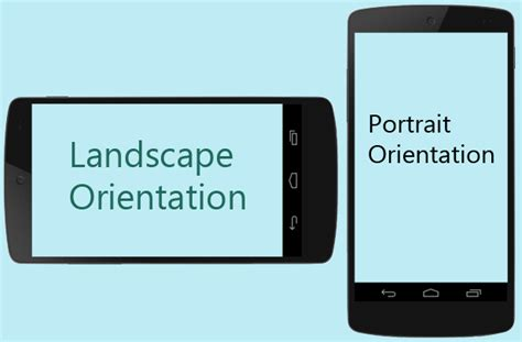 Landscape Portrait Orientation Definition Fireui Multi Device Designer And Working With Views