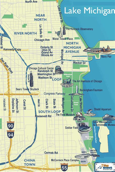 downtown chicago map pdf 2008 ursi general assembly