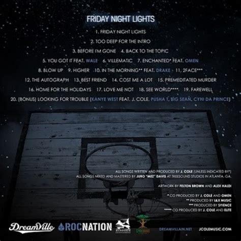 j cole friday lights j cole friday lights mixtape