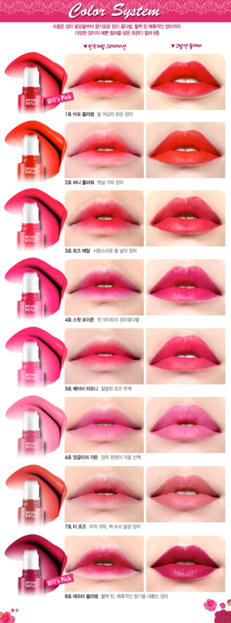 Etude House Lip Tint fall 2013 korean makeup releases skincare