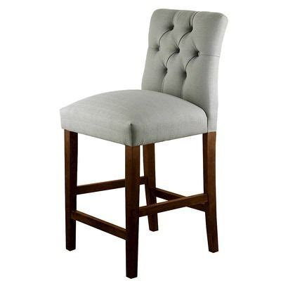 threshold 24 quot brookline tufted counter stool new house