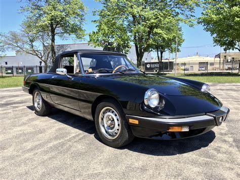 The Graduate Alfa Romeo by 1985 Alfa Romeo Spider Graduate Colin S Classic Auto