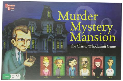 murder in the mansion a gripping crime mystery of twists books murder mystery mansion board hill s wholesale gaming