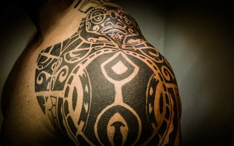 full back tribal tattoo designs back tribal shoulder