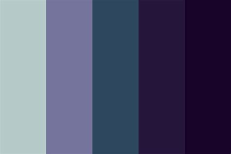 color scheme obsidian spacey color palette