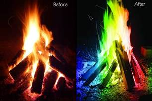 colorful fireplace color your magical flames adds colorful flames to a