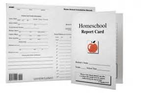 homeschool id template homeschool report card elementary middle school