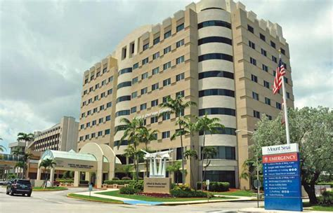 mount sinai emergency room mt sinai gets emergency room boost miami today