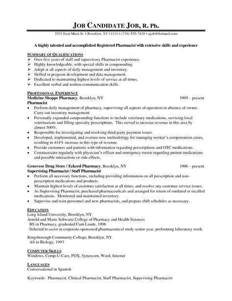 Pharmacy Resume by Creating 10x Better Entry Level Pharmacy Technician Resume