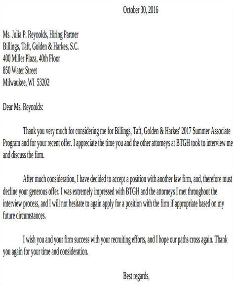 counter offer letter 40 offer letter exles