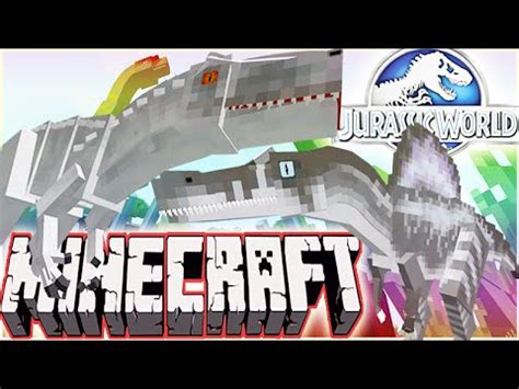 mod jurassic world the game 1 7 26 minecraft 1 8 jurassic world 2 0 mod showcase indominus