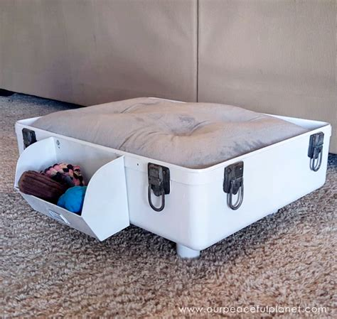 dog side bed how to make a diy dog bed from a suitcase