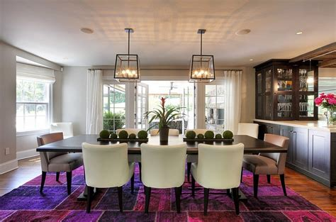 how to fashion a sumptuous dining room using majestic purple how to fashion a sumptuous dining room using majestic purple